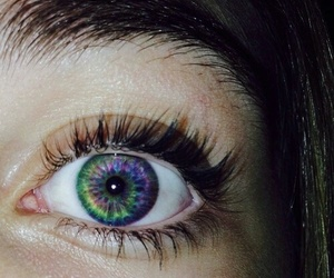 colors, iris, and eyes image