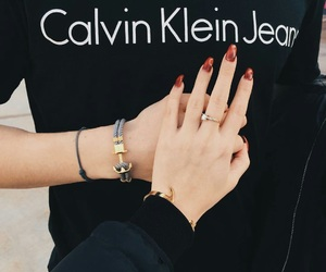 couple, Calvin Klein, and goals image