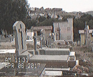 cemetery and vhs image