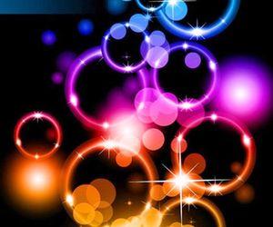 bubbles, wallpaper, and colors image