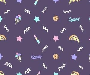 cute, background, and kawai image