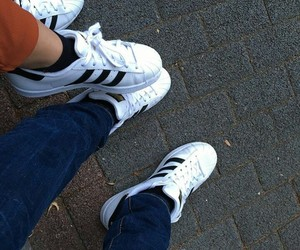 adidas, superstar, and love image