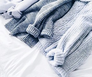sweater, style, and blue image