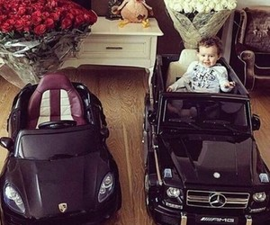 luxury, cars, and girl image