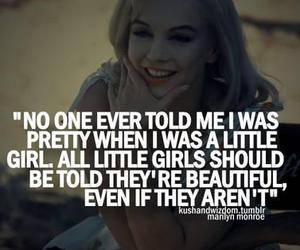 quote, pretty, and Marilyn Monroe image
