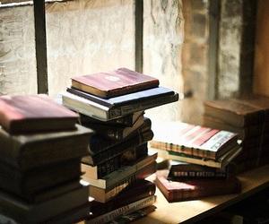 books, calm, and window image