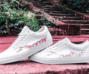 blossom, pink, and shoes image