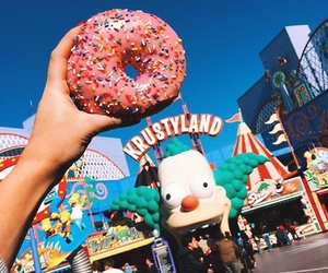 donuts, krustyland, and food image