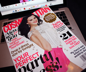 katy perry, magazine, and cosmopolitan image