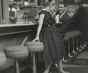 couple, vintage, and date image