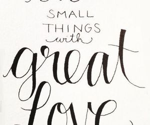 etsy, lettering, and love image