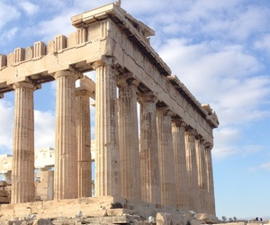 acropolis and greek image