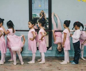 ballet, girls, and rosa image