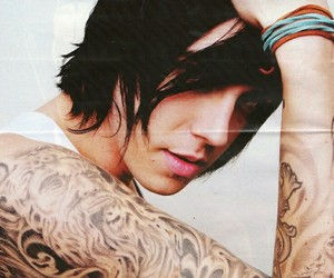 kellin quinn, sleeping with sirens, and tattoo image