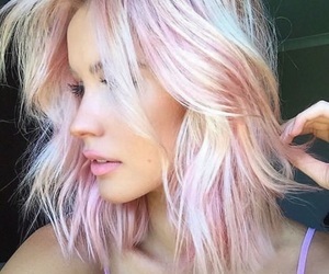 colorful, pastel, and dip dye image