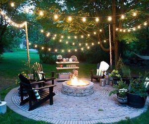 garden, light, and design image