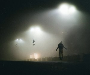 alien and dark image