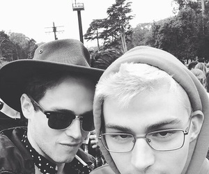 13 reasons why, brandon flynn, and miles heizer image