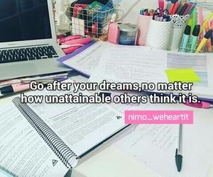 do, Dream, and inspirational image