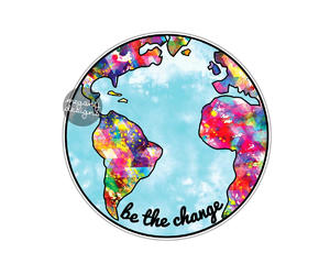 decal, earth, and etsy image