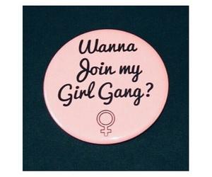 girl, power, and gang image