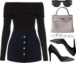 chic, Polyvore, and fashion image
