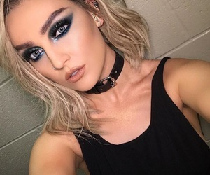 beauty, perrie edwards, and makeup image