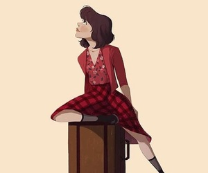 amelie, broadway, and fan art image