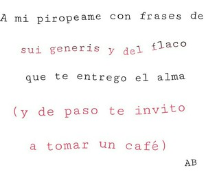 cafe, frases, and spinetta image