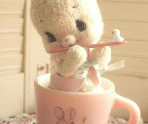 bunny, easter, and cute image