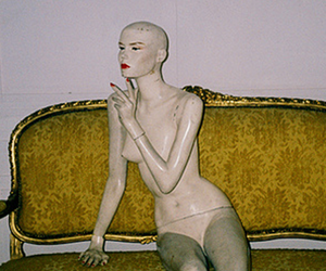 interior, mannequin, and room image