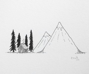 art, mountains, and ideas image