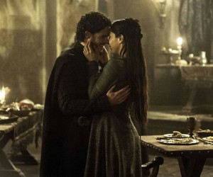 red wedding, game of thrones, and robb stark image