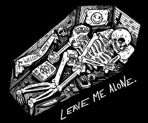 coffin, skeleton, and dead image