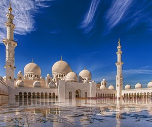 beautiful, islam, and blue image