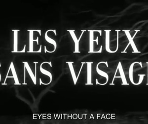 aesthetic, black and white, and eyes without a face image