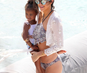 kendall jenner and north west image
