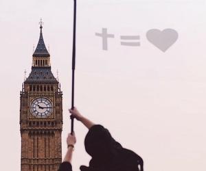 jesus, love, and cross image