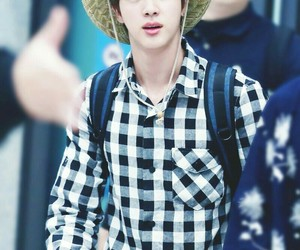 airport, jin, and hat image