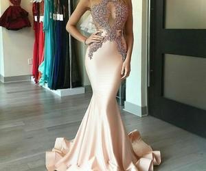 vestido, hermoso, and brillos image