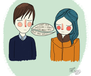 art, eternal sunshine of the spotless mind, and couple image
