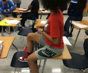 outfit, school, and nike image