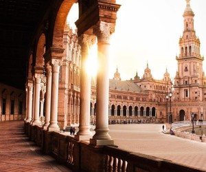 architecture, seville, and spain image