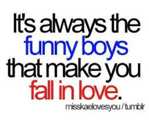 love, boys, and funny image