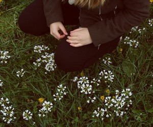 alternative, flowers, and girl image