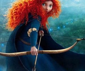 brave, disney, and princess image