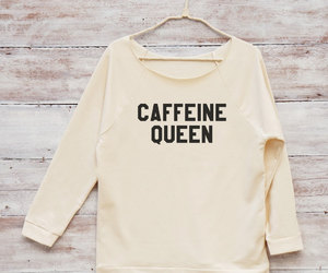 caffeine, slogan, and hipster fashion image