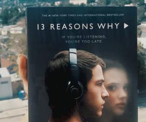 book, 13 reasons why, and hannah baker image