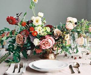 centerpiece, pretty, and flowers image
