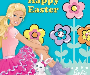 bunny, spring, and barbie image